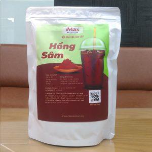 iMax – Bột Trà Sữa Vị Cao Cấp Hồng Sâm